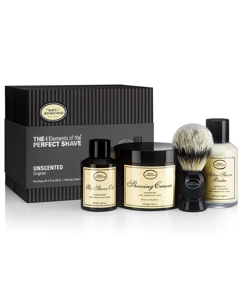 men's shaving products