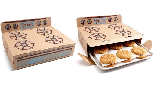 delivery box for cookies
