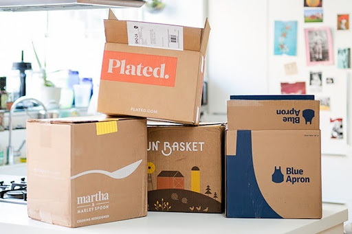 grocery delivery boxes